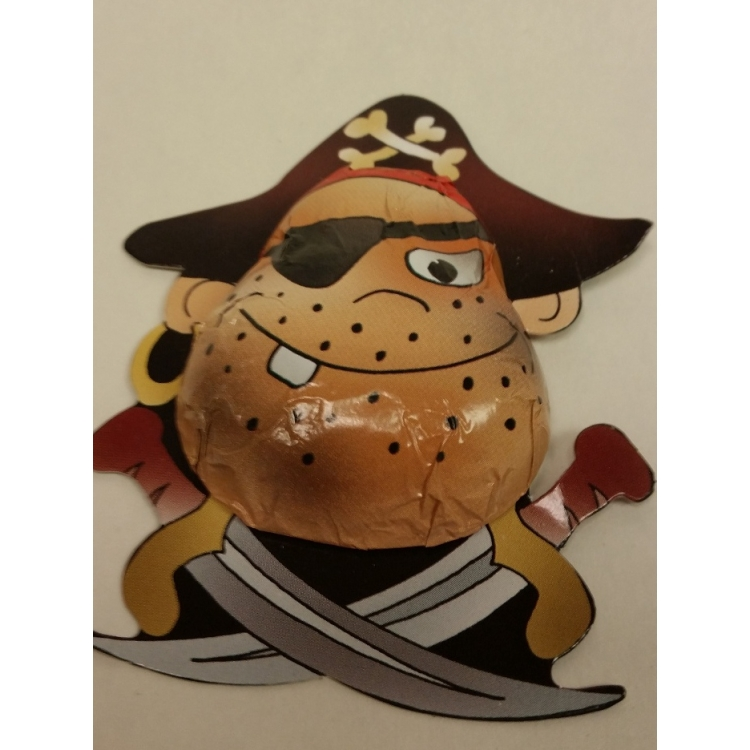 Solid Chocolate Pirate