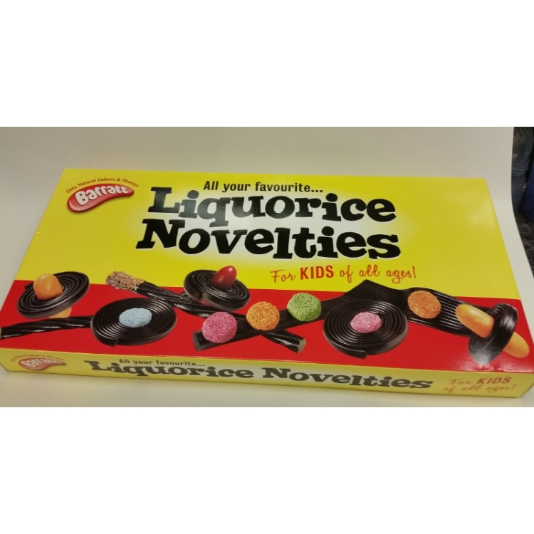 Liquorice Novelties