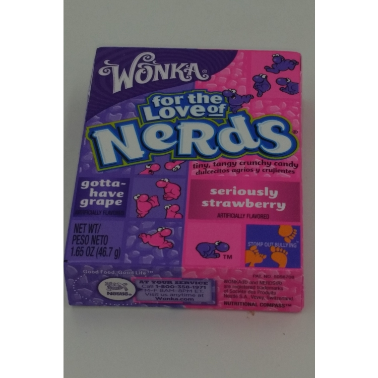 Gotta have grape and Seriously Strawberry Nerds
