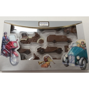 Heilemann Vintage Car & Bike Chocolate Set