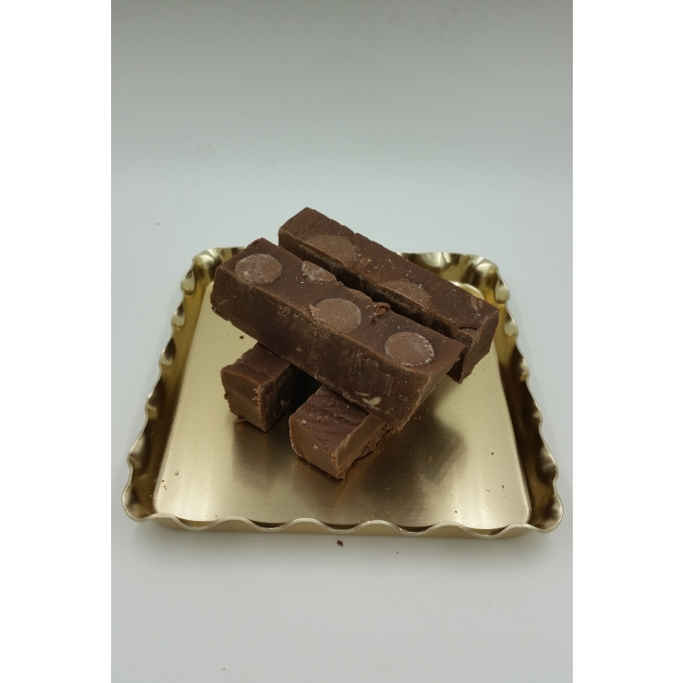 Chocolate Fudge with Chocolate Buttons - Gluten Free