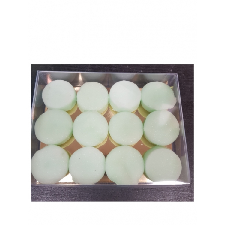 Hand-Made Peppermint Fondant Creams in a box