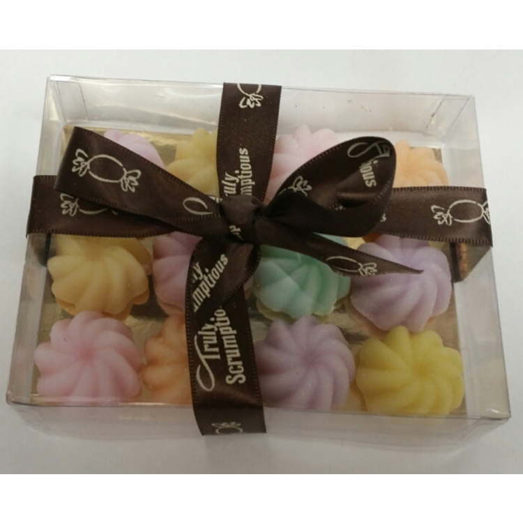 Hand-Made Crystallised Fondants (approx. 12 in box)