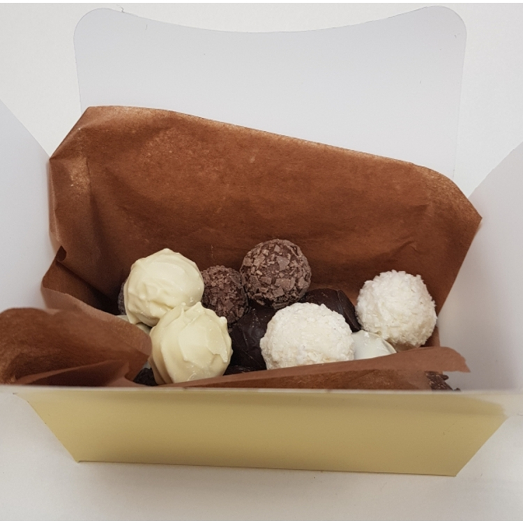 A selection of  Belgian Chocolate Truffles