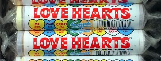 Love Hearts Sweets