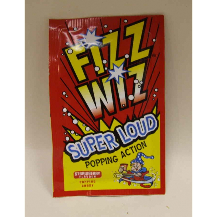 Fizz Wizz Super Loud Popping Candy