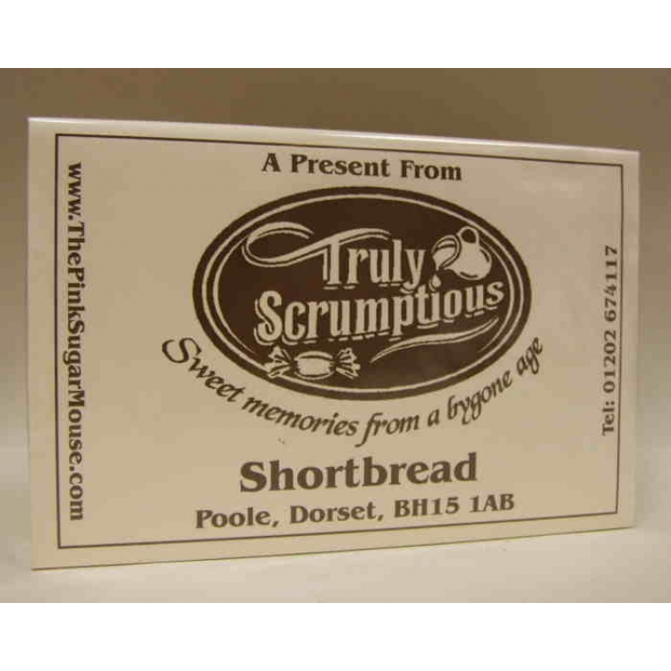 A box of shortbread from Truly Scrumptious