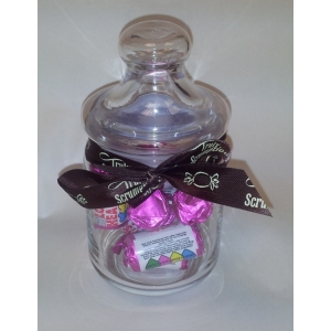 Love Hearts in Glass Jar